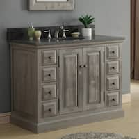Shop Marble Top 53 Inch Single Sink Bathroom Vanity Free