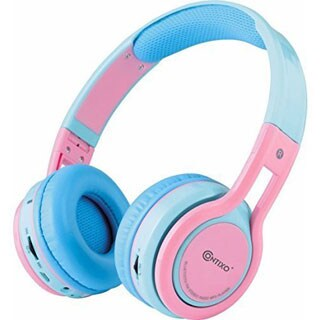 Contixo KB-2600 Kid-safe Volume Limiting Over-the-ear Wireless Bluetooth Headphones