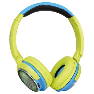 Contixo KB-300 Kid-safe 85DB Over-the-ear Foldable Wireless Bluetooth LED Headphone