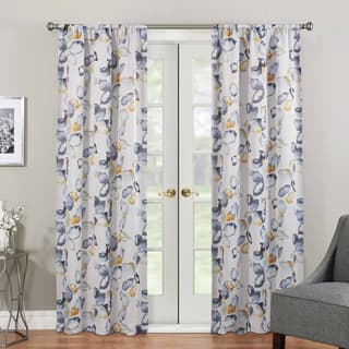 Floral curtains drapes for less overstock eclipse paige thermaweave room darkening window curtain panel more options available mightylinksfo