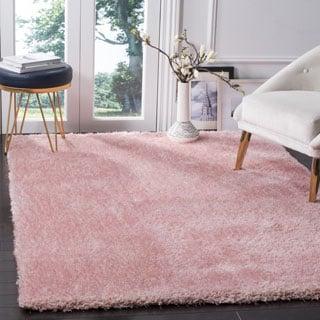 Safavieh Toronto Handmade Pink Shag Rug (8' x 10')