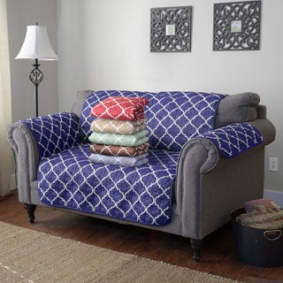 Journee Home Reversible Printed Loveseat Protector