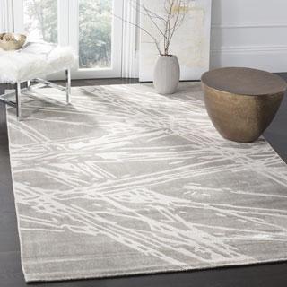 Safavieh Expression Contemporary Handmade Grey Wool Rug (9' x 12')
