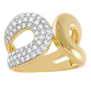 Beverly Hills Charm 14K Yellow Gold 1ct TDW Diamond Ring (H-I, SI2-I1)