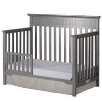 Dream On Me  Universal Convertible Crib Toddler Guard Rail - Grey