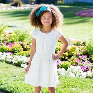 DownEast Basics Girls' Lisbon Dress