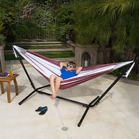 Jalama Outdoor Portable Hammock by Christopher Knight Home
