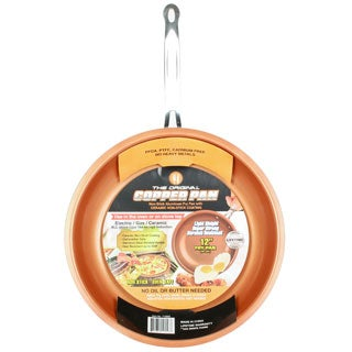 Original Copper Pan 12-Inch Round Nonstick Fry Pan