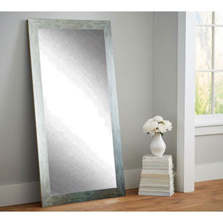 Silver 32 x 65.5-inch Tall Vanity Wall Mirror
