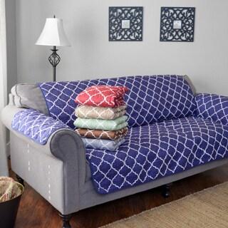 Journee Home 'Jovannie' Reversible Printed Sofa Protector