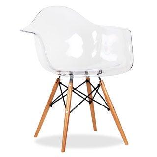 Clear Eiffel Arm Chair