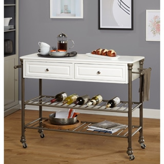 Simple Living Clement Rolling Kitchen Island