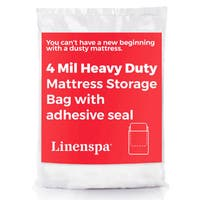 LINENSPA 4 Mil Heavy Duty Mattress Storage Bag