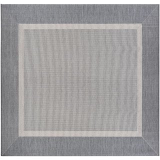 Recife Stria Texture Champagne Grey Indoor/Outdoor Square Rug - 8'6 x 8'6|https://ak1.ostkcdn.com/images/products/P20985732a.jpg?impolicy=medium