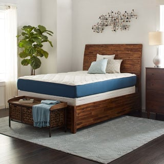 Select Luxury 10-Inch King-size Quilted AirFlow Gel Foam Mattress Set