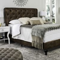 Safavieh Hathaway Coffee Bed (Full)