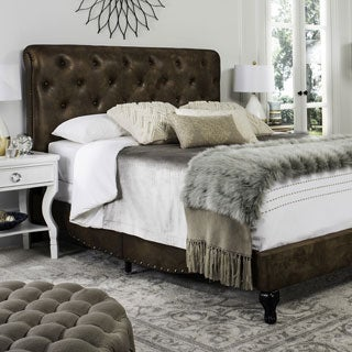 Safavieh Hathaway Coffee Bed (Full)