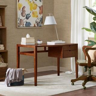 Madison Park Montrose Pecan 2 Drawer Desk