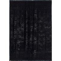 eCarpetGallery Soho Black Shag Rug - 3'10 x 5'7