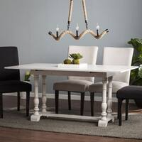 Harper Blvd Eddlewood Farmhouse Folding Trestle Console to Dining Table