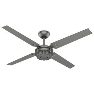Hunter Chronicle Brushed Slate 54-inch 4-Blade Fan - Grey
