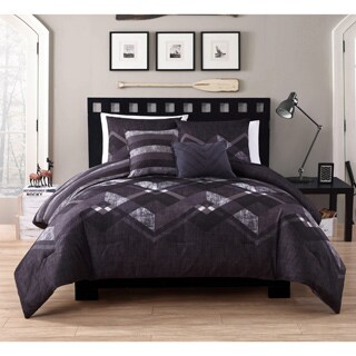VCNY Home Jake Reversible 5-piece Comforter Set