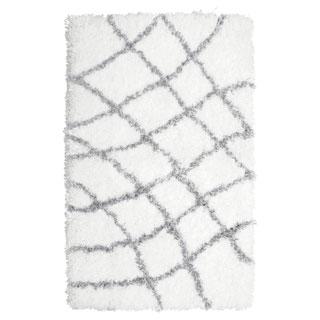 Vista Living Diamond Chunky Shag Accent Rug - (24 x 36 in.)