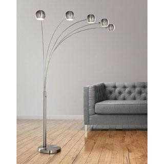 HomeTREND ORBS 5 Lite Arch Floor Lamp