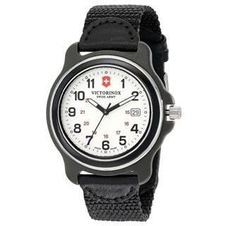 Victorinox Swiss Army Men's Black Nylon Original XL 249086 Swiss Quartz Analog Watch|https://ak1.ostkcdn.com/images/products/P21299756a.jpg?impolicy=medium