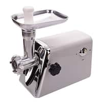 1,300-watt Domestic US Standard White Multifunctional Electric Meat Grinder