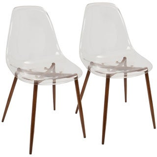 Clara Mid-century Modern Dining Chairs (Set of 2)