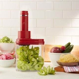 Wolfgang Puck 3-in-1 3-blade Electric Power Spiralizer with Recipes