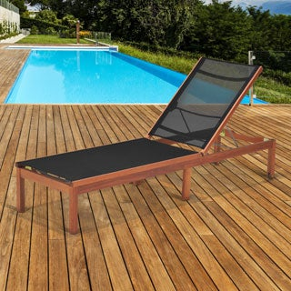 Amazonia Nash Patio Lounger with Sling