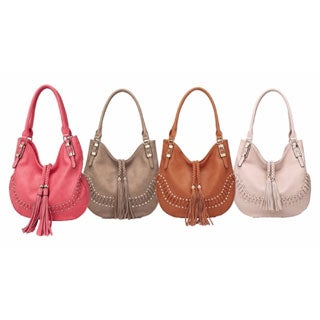 MKF Collection Iva Hobo Shoulder Bag by Mia K. Farrow