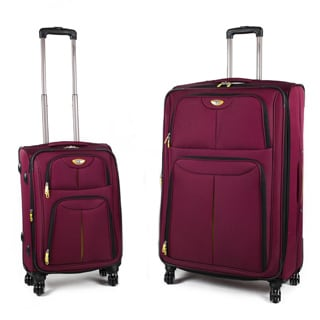 American Green Travel Trooper 2-Piece Spinner Luggage Set