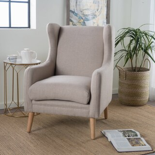 Rosalee Fabric Club Chair by Christopher Knight Home