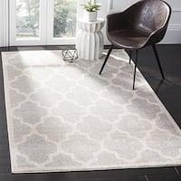 Safavieh Amherst Indoor / Outdoor Light Grey / Beige Rug - 3' x 5'