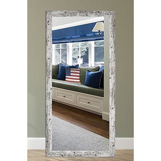 US Made Weathered White Farmhouse Mirror (More options available)