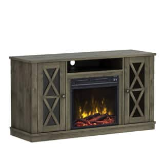 Bayport TV Stand for TVs up to 55 inches with Electric Fireplace - Spanish Gray|https://ak1.ostkcdn.com/images/products/P22050163a.jpg?impolicy=medium