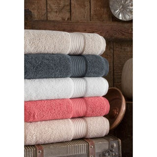 Somette 6-piece Cloud Loft High Absorbency Turkish Cotton Towel Set