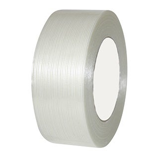 "36 Rolls Economy Filament Strapping Tape 1/2"" x 60 Yards 3.9 MIL Reinforced"