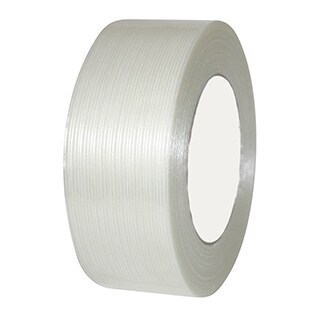 "18 Rolls Economy Filament Strapping Tape 1"" x 60 Yards 3.9 MIL Reinforced"