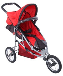 AmorosO Red Jogging Stroller - Free Shipping Today - Overstock.com ...