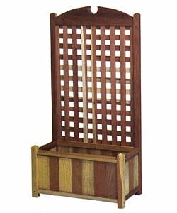 Shop Windsor Long Planter Box Wtih Redwood Trellis Free