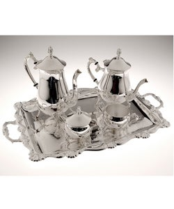 Silverplate Coffee and Tea Five-piece Set
