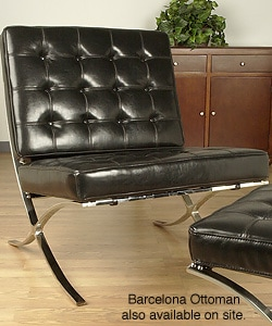 Thumbnail 1, Style Black Leather Chair.