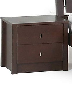 Tribeca Two-drawer Nightstand - Thumbnail 0