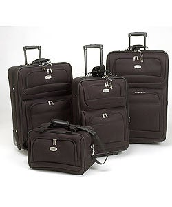 Travelpro Black 4-piece Luggage Set - Free Shipping Today ...