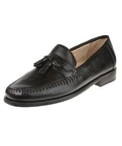 Shop Nunn Bush Ethan Men S Black Loafer Free Shipping On