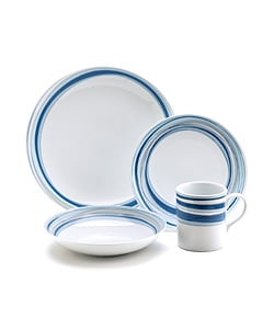 studio nova brook 16 piece dinnerware set free shipping